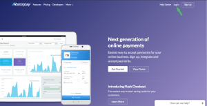 Signup and login into RazoyPay