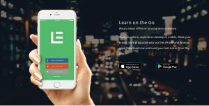 App promo in hand