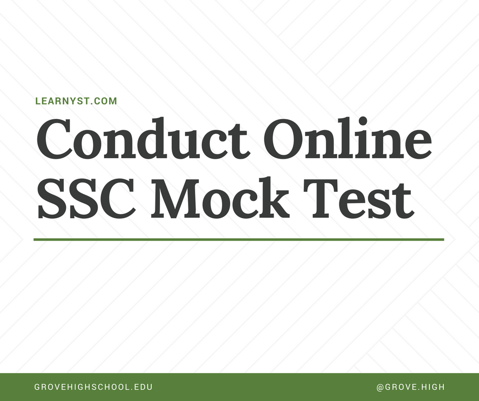SSC examination Mock Test