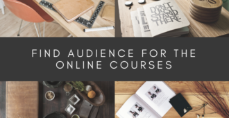 Find Audience for The Online Courses