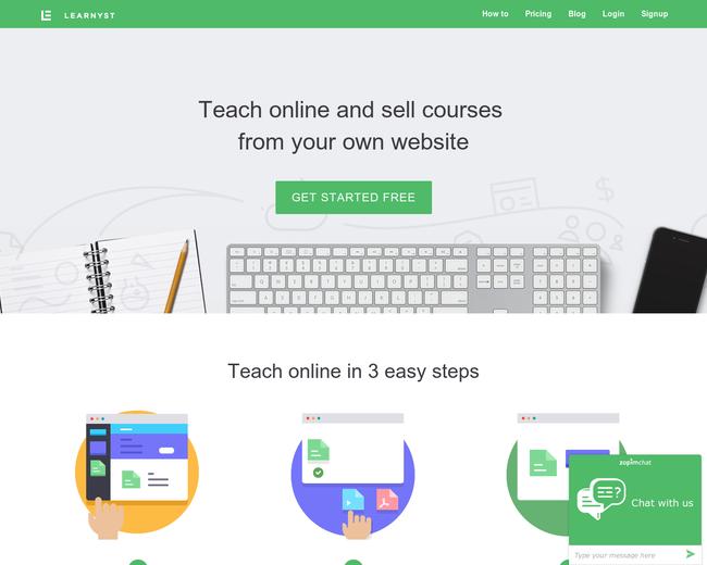 learnyst website