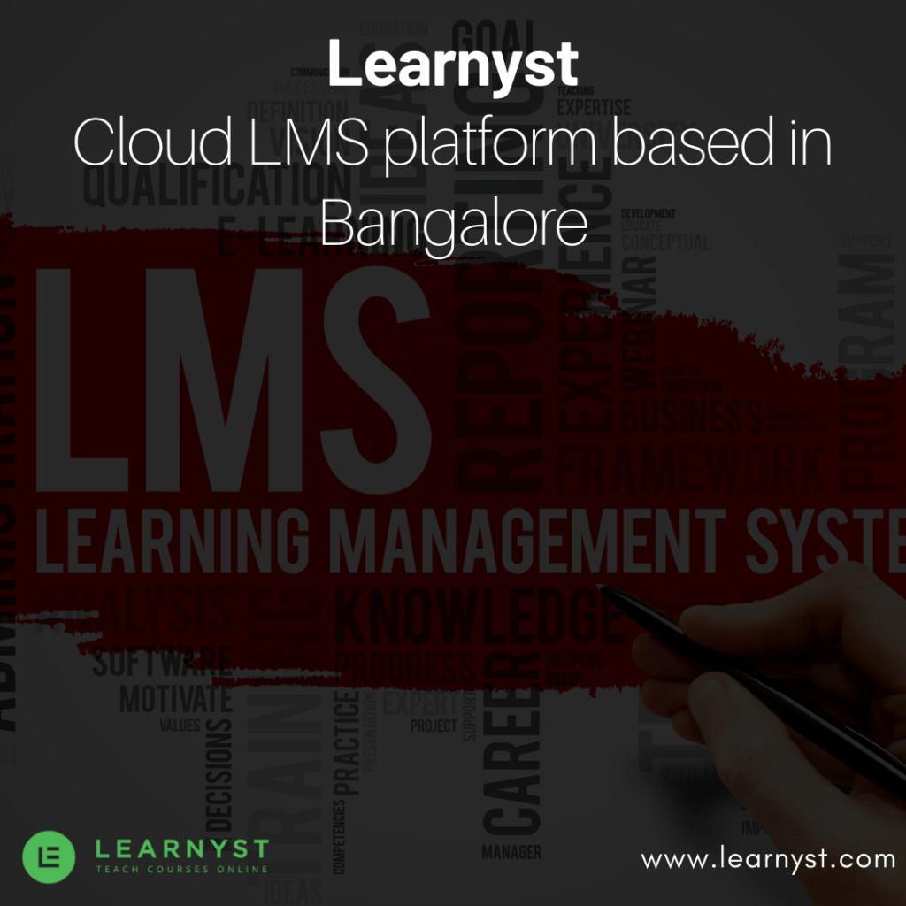Learnyst a cloud-based LMS company in Bangalore