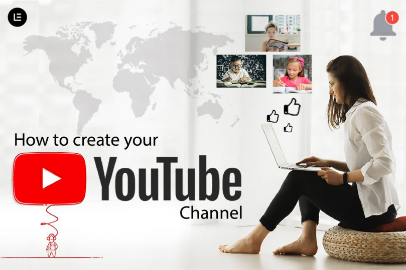 create your youtube channel