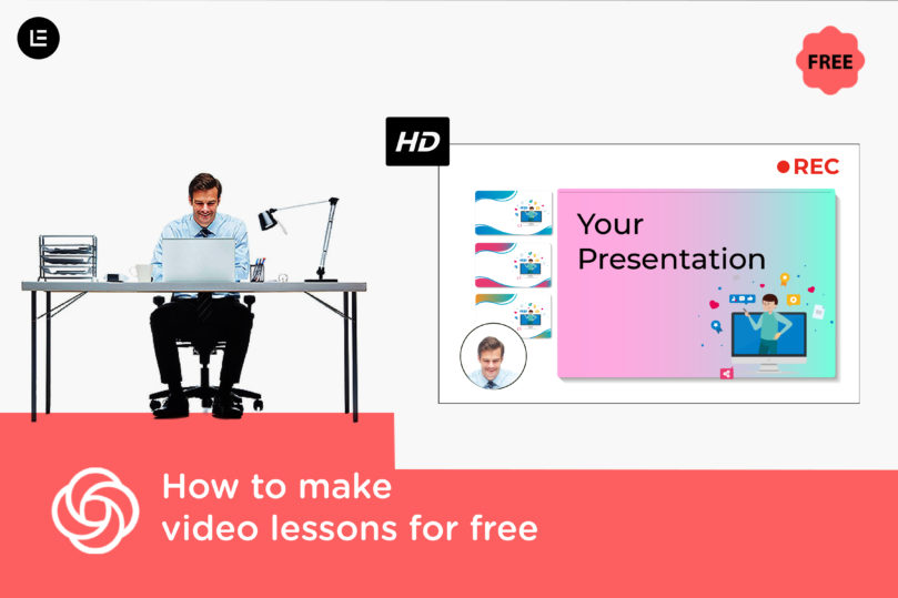 how to make video lectures for free