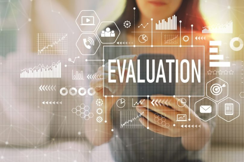 onscreen evaluation system