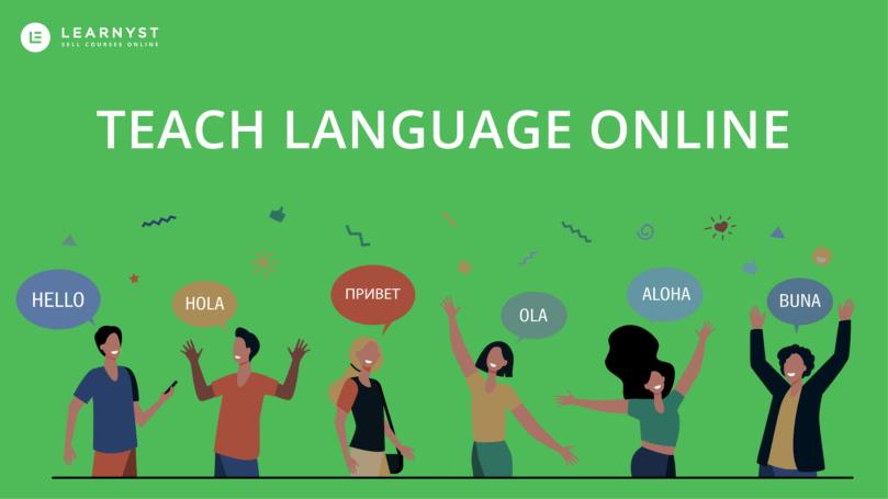 Teach languge online