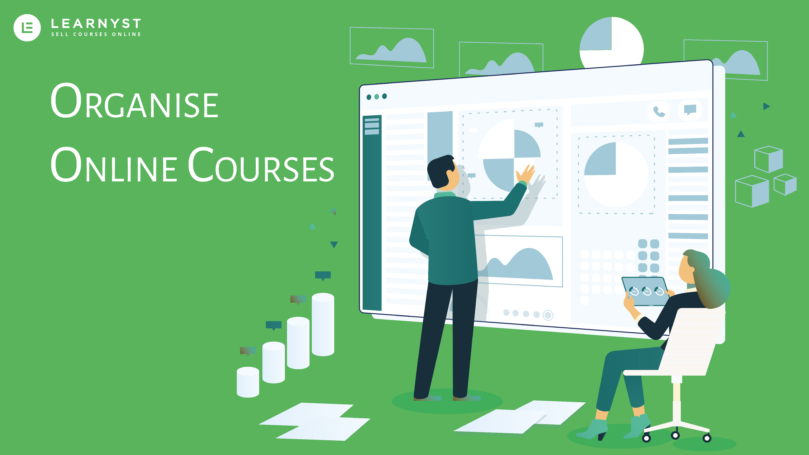 how to organize your online courses