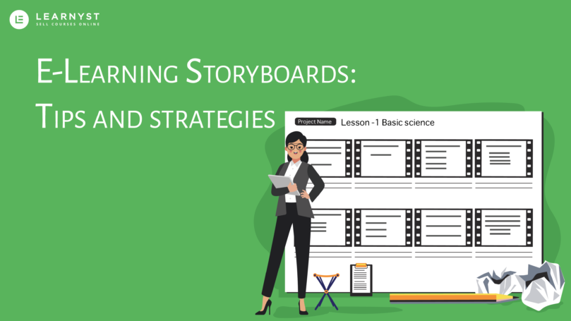 E-learning storyboard tips